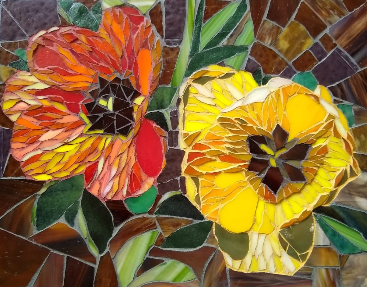 Mexican Poppies by Andrea L Edmundson
