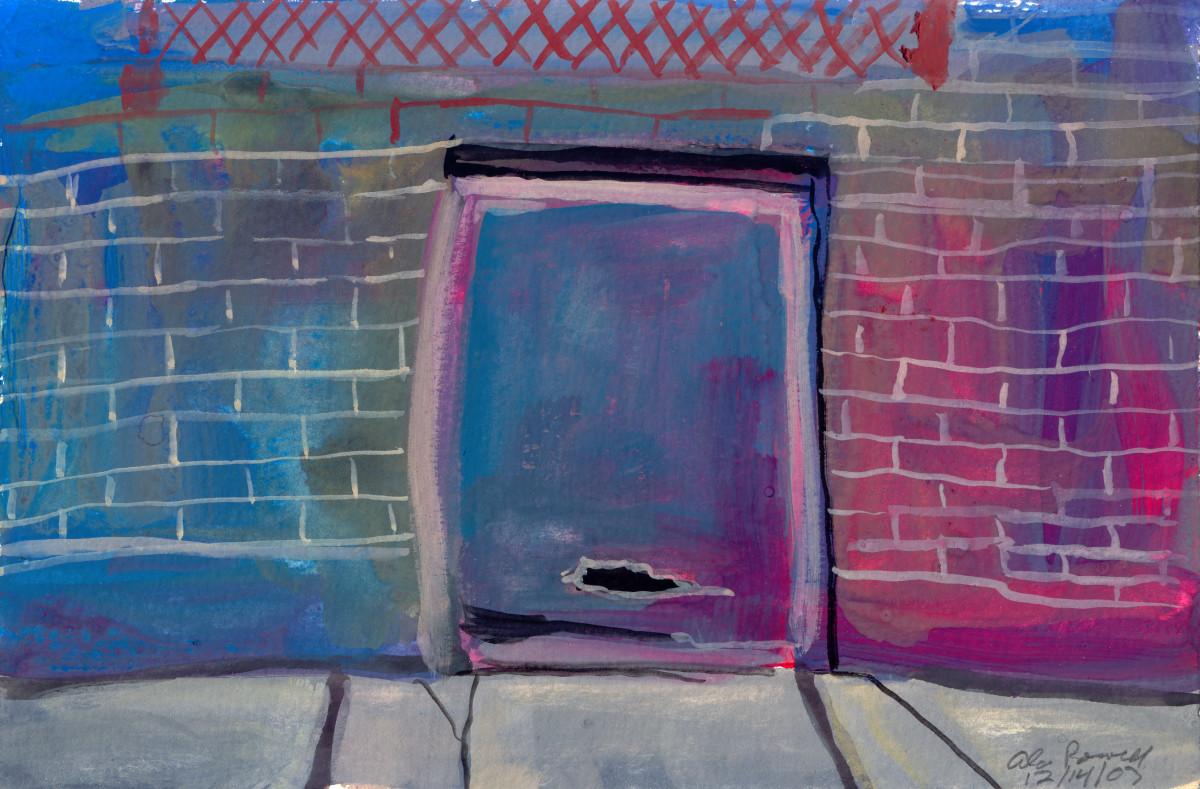 December 14, 2007; Storage Unit Door by Alan Powell