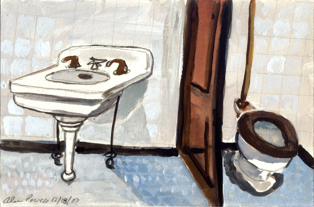 December 18, 2007; Bathroom Grange by Alan Powell
