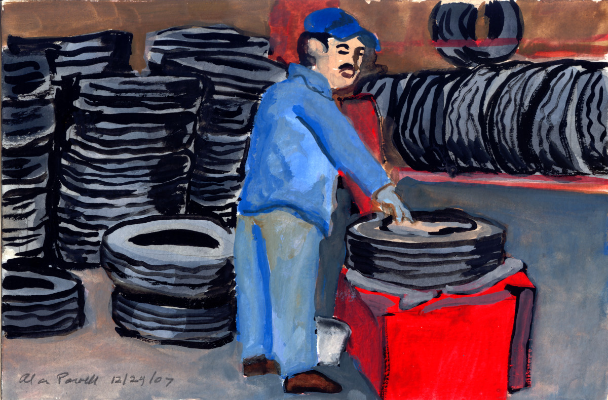 December 24, 2007 Mechanic  by Alan Powell