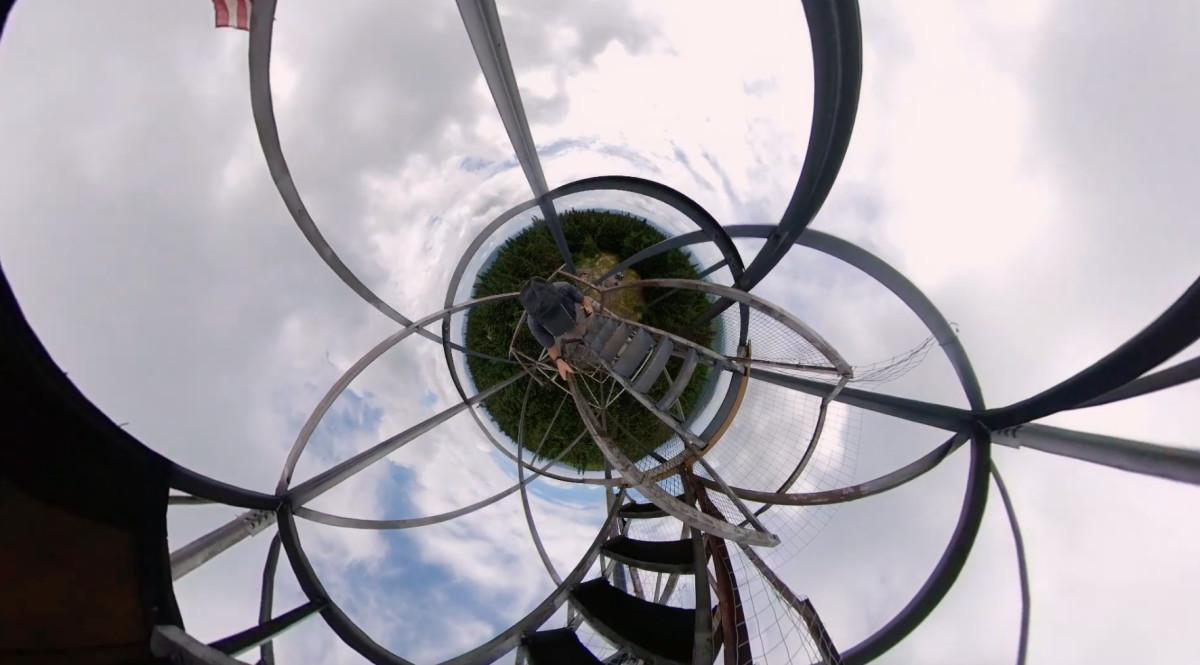 Tower Climb by Alan Powell