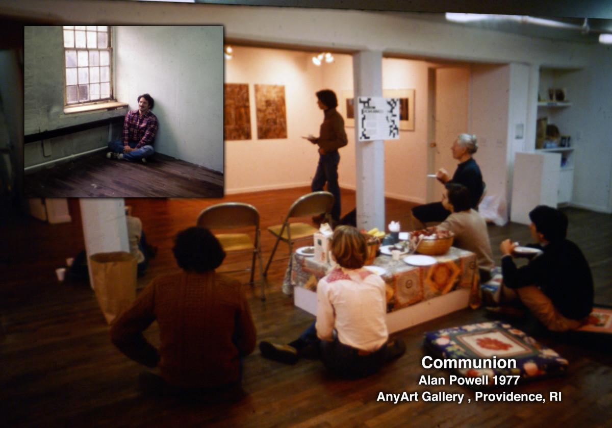 Communion 1977 Alan Powell by Alan Powell