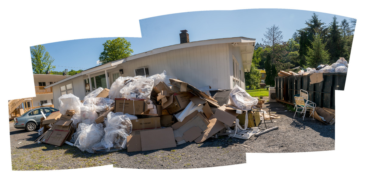 Trash Motel by Alan Powell