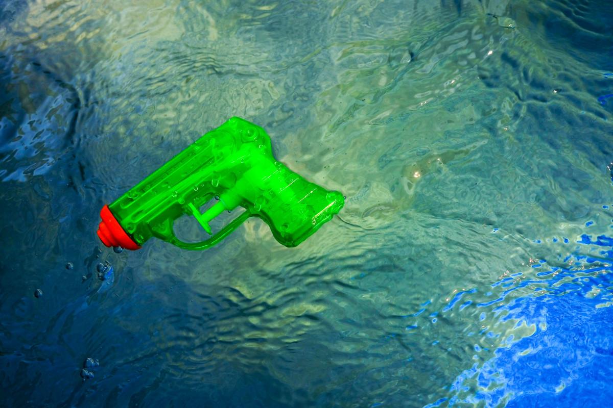 Pistol in the Water by Alan Powell