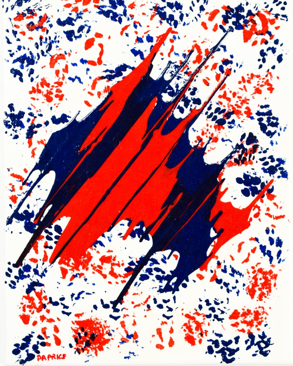 Red & Blue Sparkle