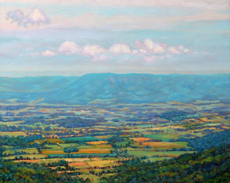 Shenandoah Blue by Bonnie Mason