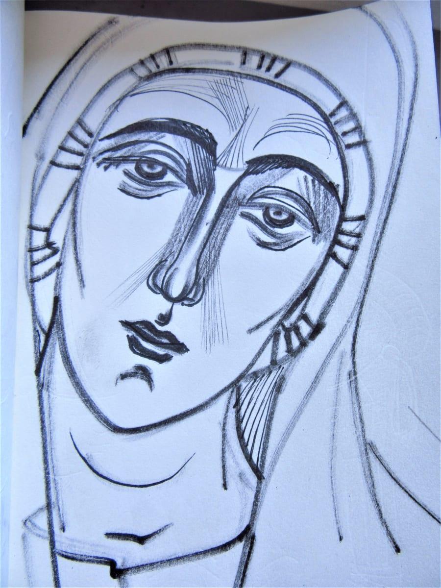 Saint woman by Gallina Todorova