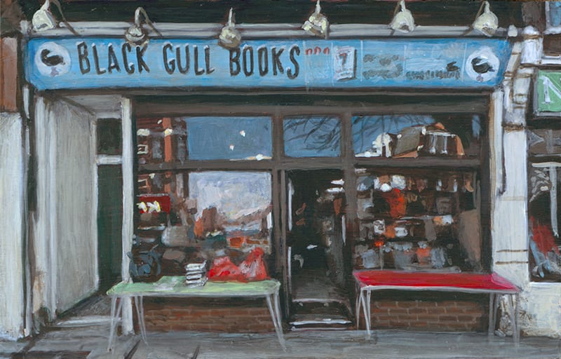 Black Gull Books, East Finchley by Michelle Heron