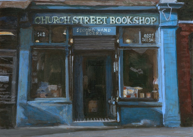 Church Street Bookshop, Stoke Newington by Michelle Heron