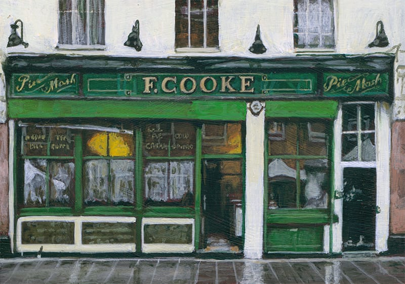 F.Cooke Pie & Mash, Hoxton by Michelle Heron