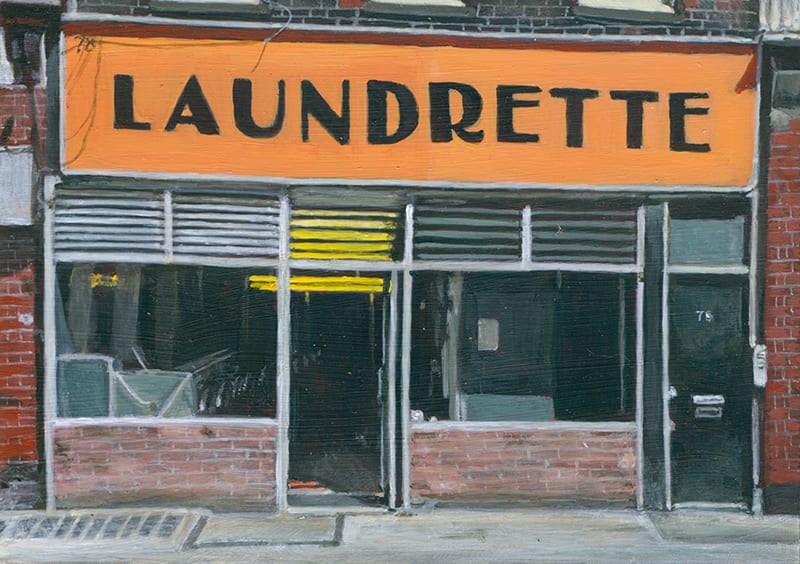 Laundrette, Bloomsbury by Michelle Heron
