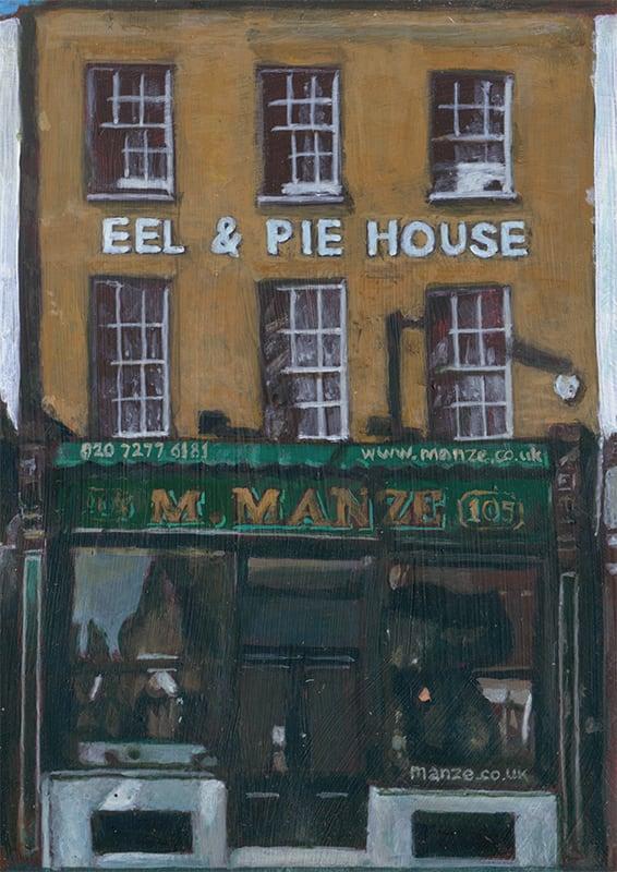 M.Manze Eel & Pie House, Peckham by Michelle Heron