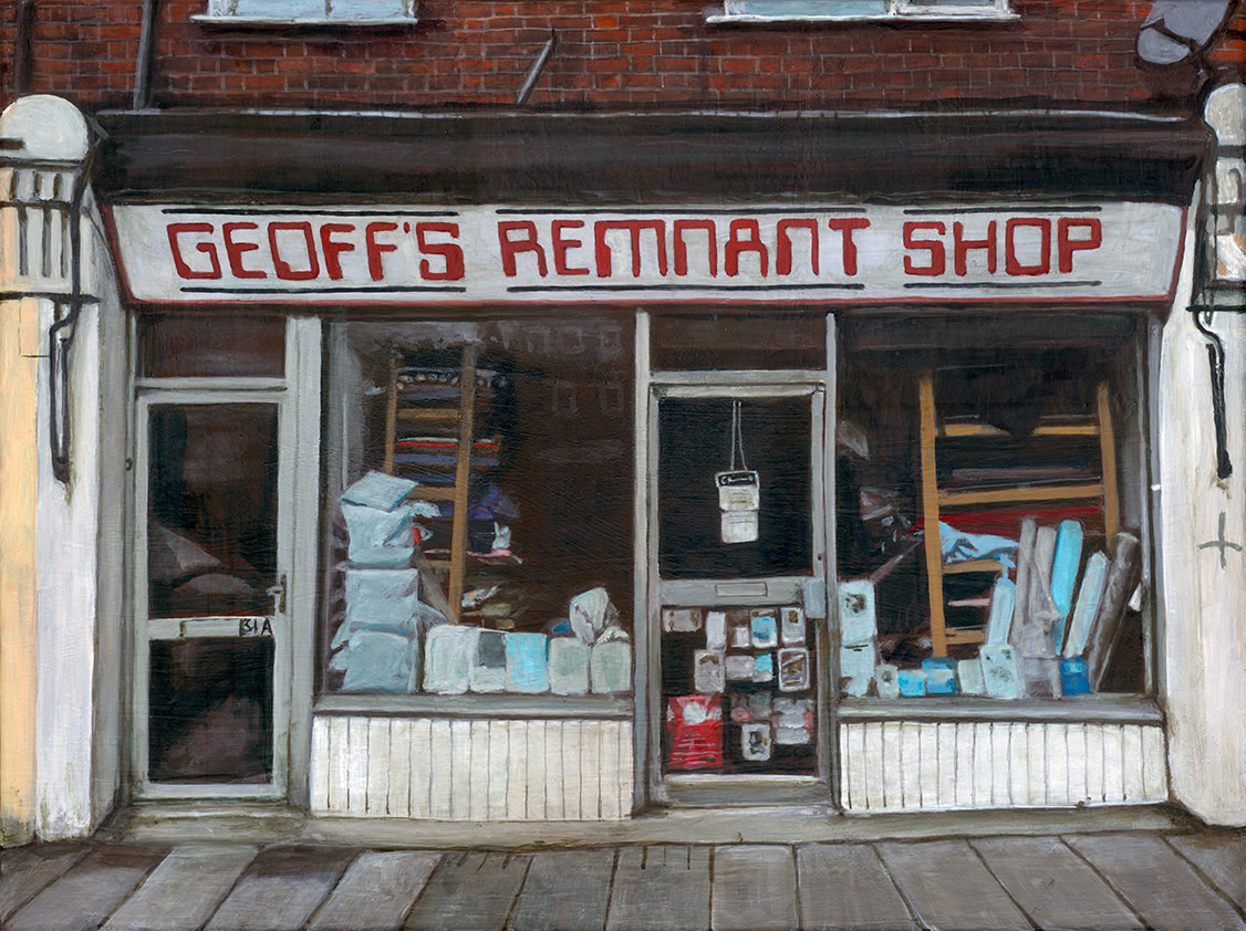 Geoff's Remnant Shop, Brentwood by Michelle Heron