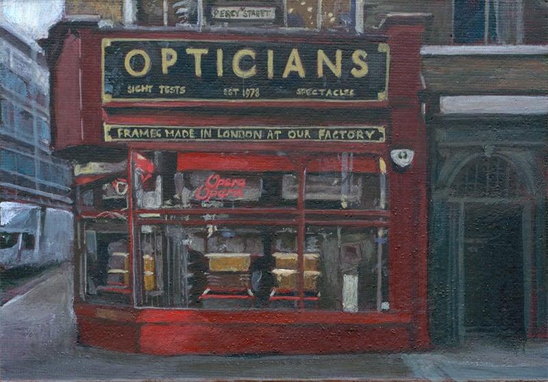 Opera Opera Opticians by Michelle Heron