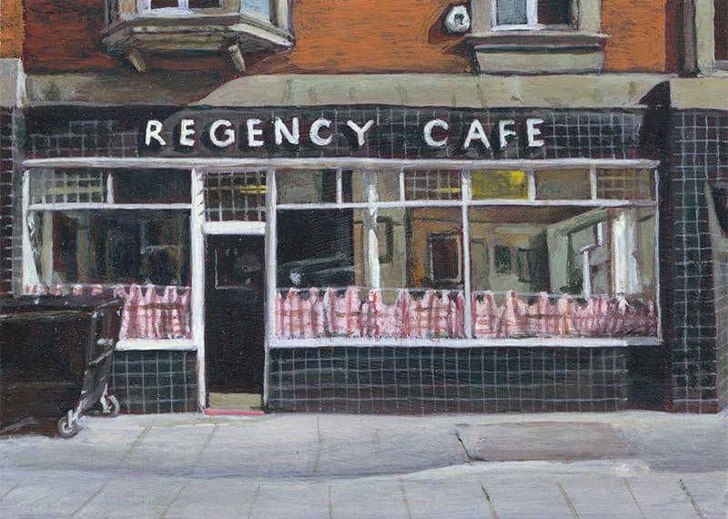Regency Cafe by Michelle Heron