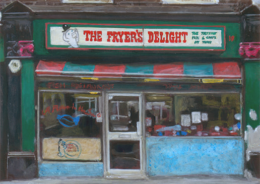 The Fryer's Delight by Michelle Heron