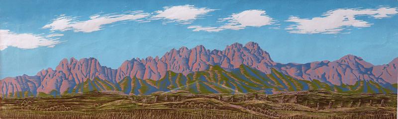 Organ Mountains by Tony Lazorko