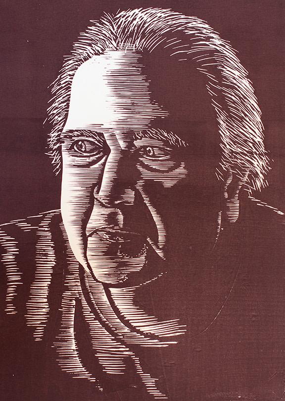 Self Portrait at 75 by Tony Lazorko