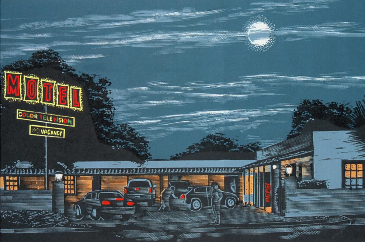 Moonlight Motel by Tony Lazorko