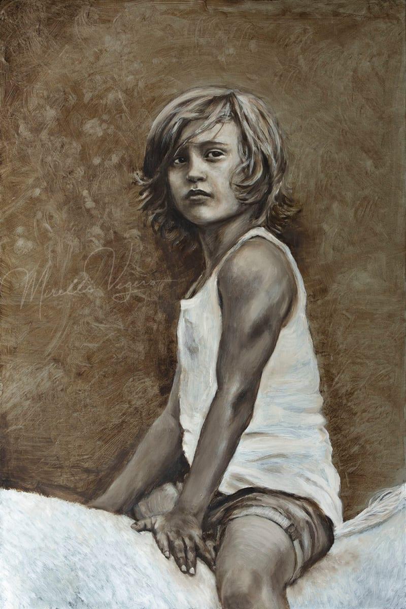 Crin Blanc by Mirelle Vegers