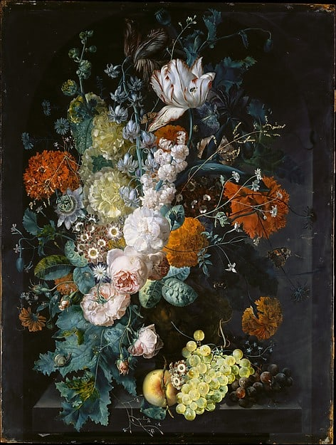 A Vase Of Flowers From The Collection Of Demo Corp Artwork Archive