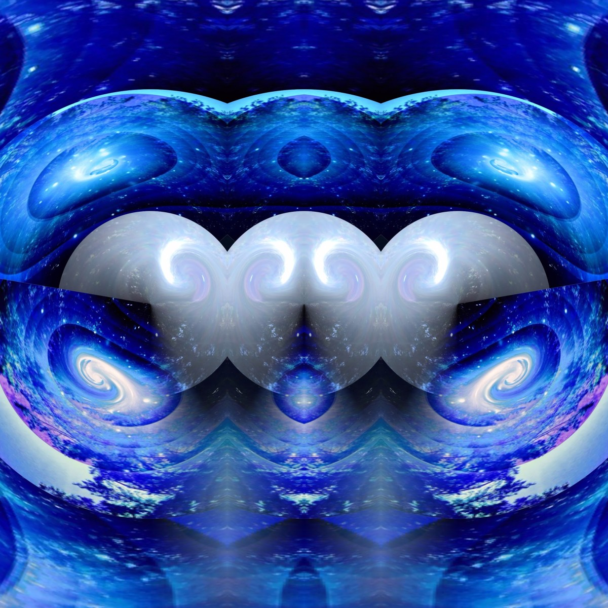 Universal Blue Womb by Claire Jones