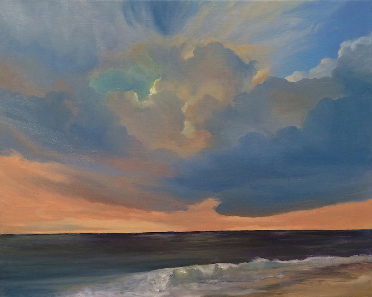 Sunset Beach by Kathleen Moore