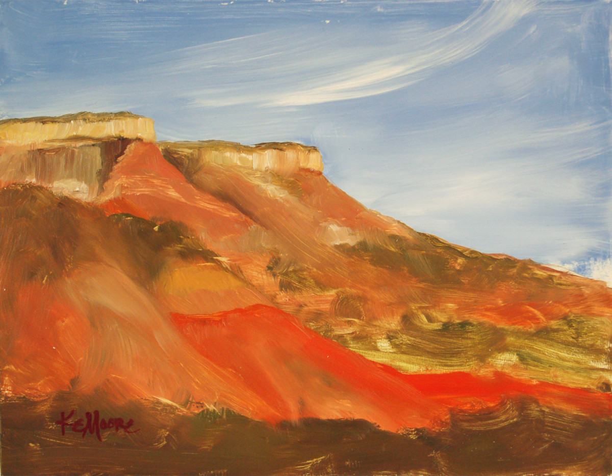 Palo Duro 3 by Kathleen Moore