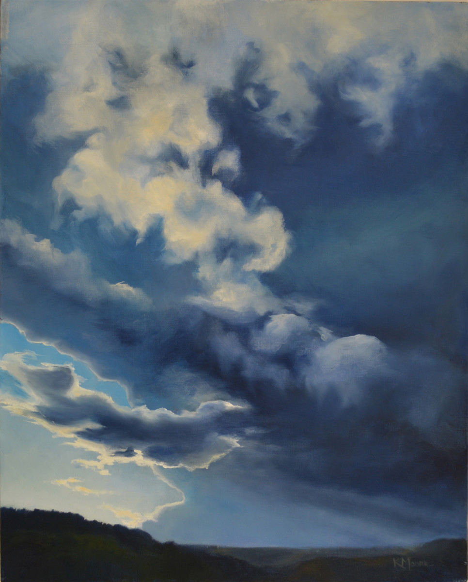 Storm Above Raton by Kathleen Moore
