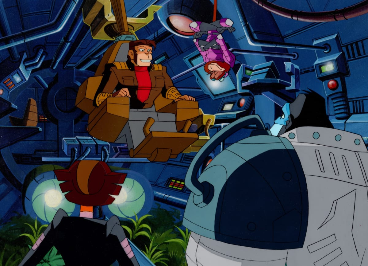 Captain Simian and the Space Monkeys - Cels and Background - Group