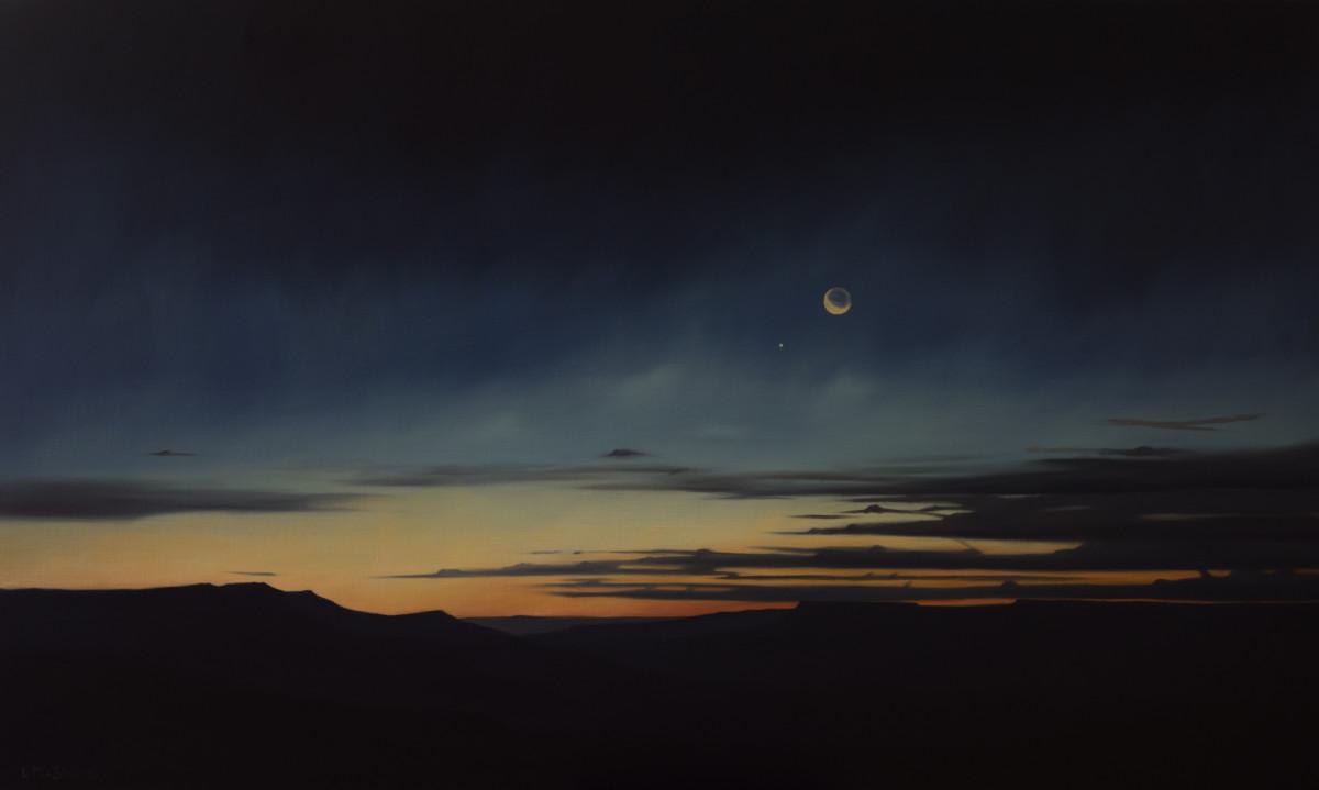 Dawn across Whitmore Canyon by Lisa McShane