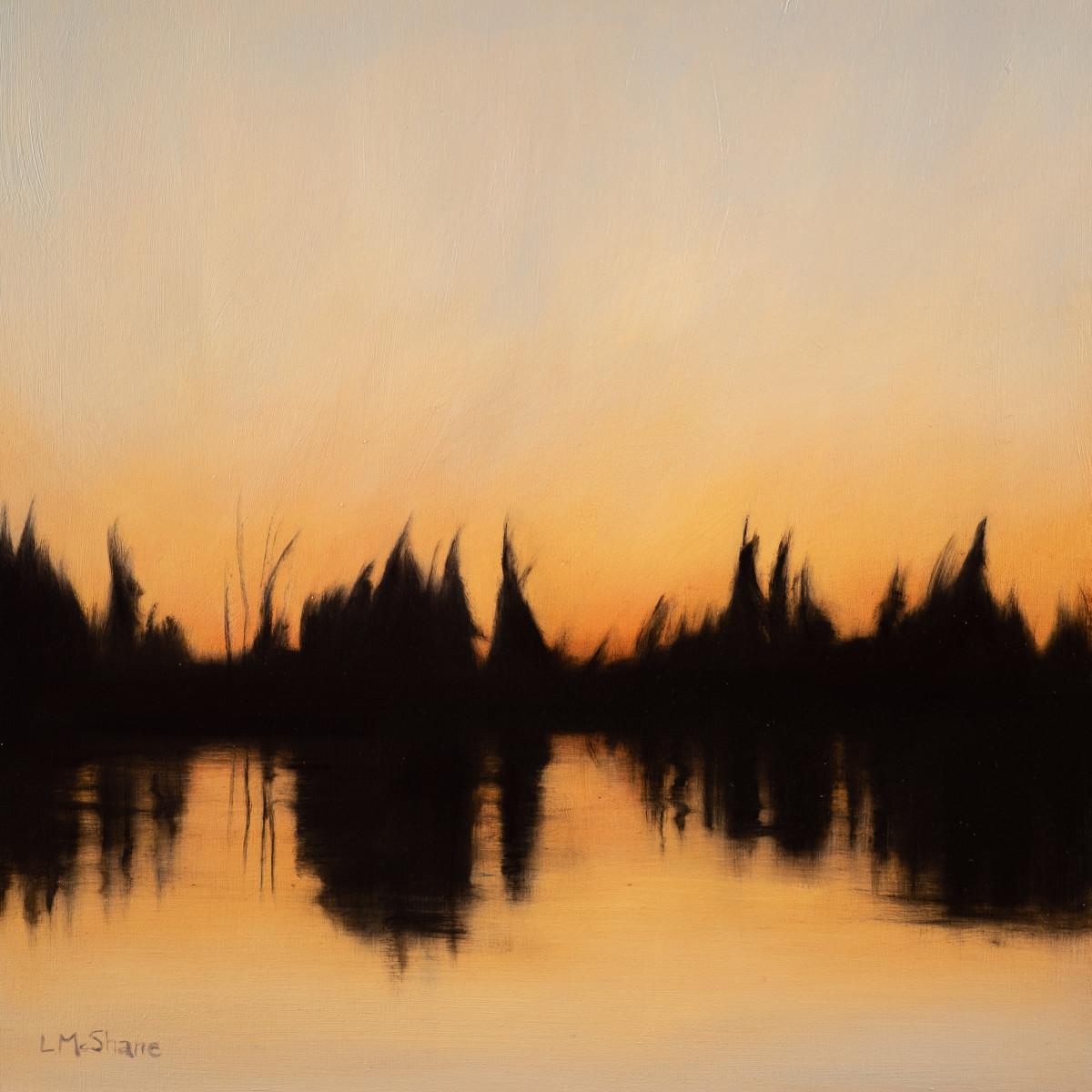 North Pond Winter Sunset