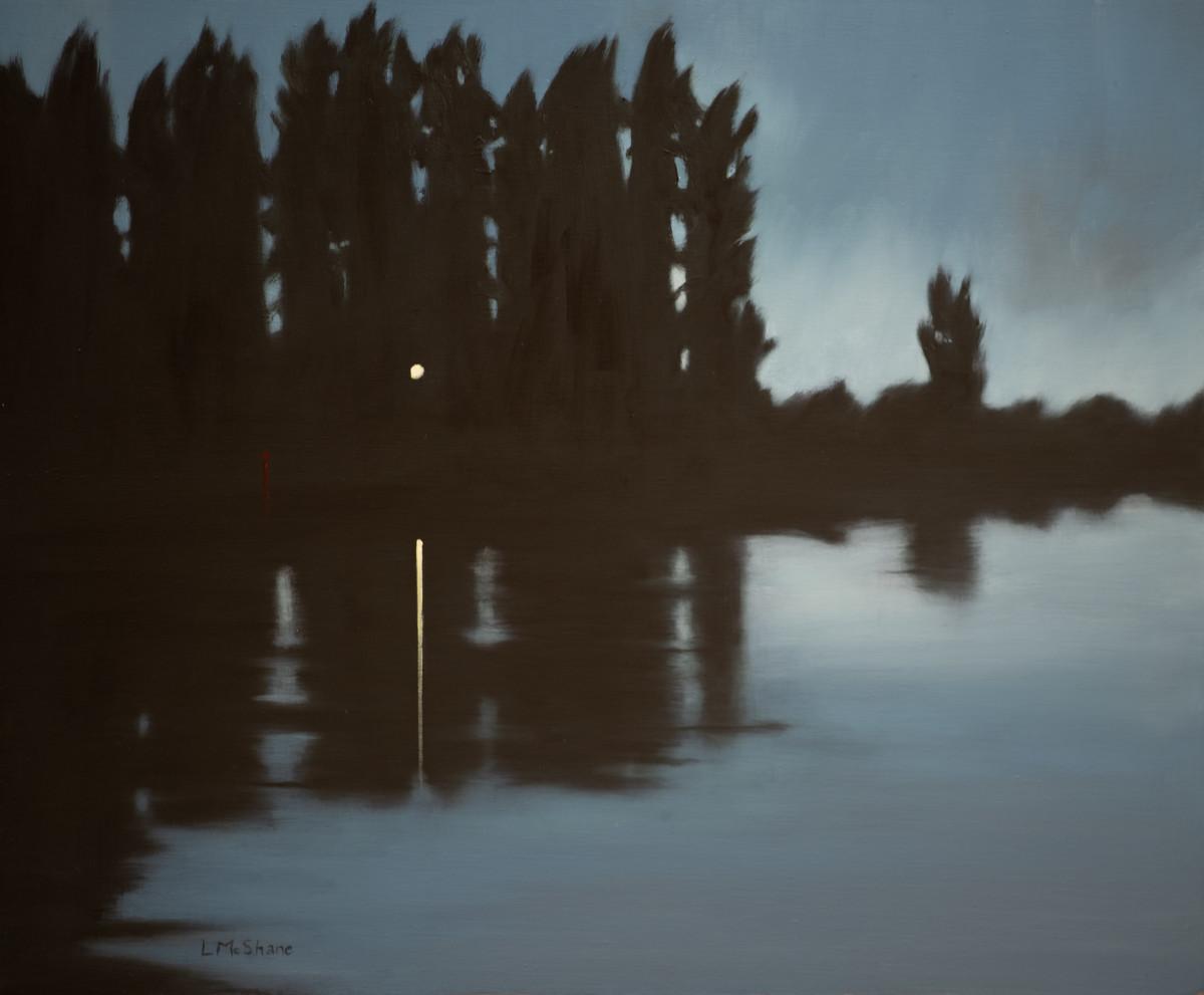 River at Night by Lisa McShane