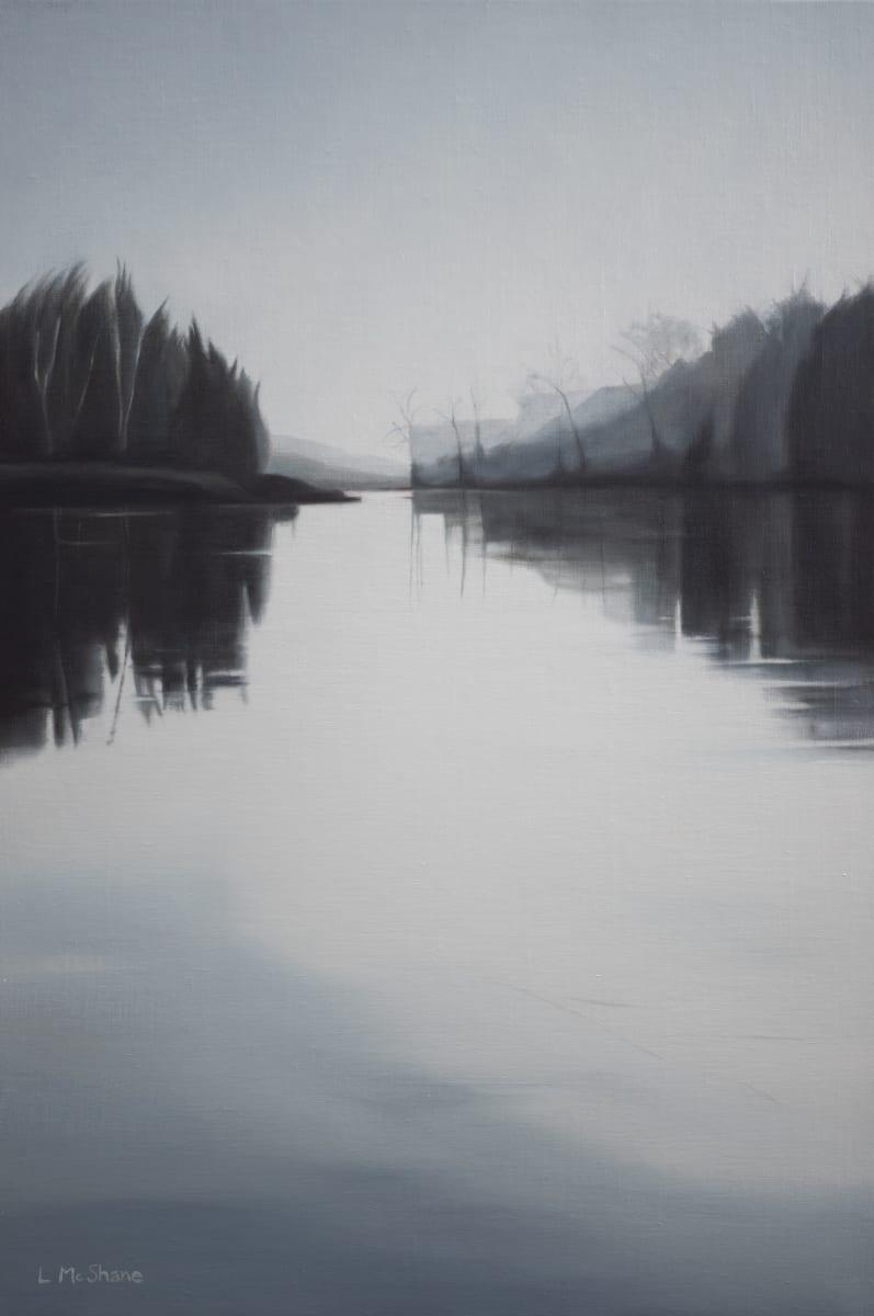 Lhaq'te'mish: Nooksack Delta in Fog by Lisa McShane