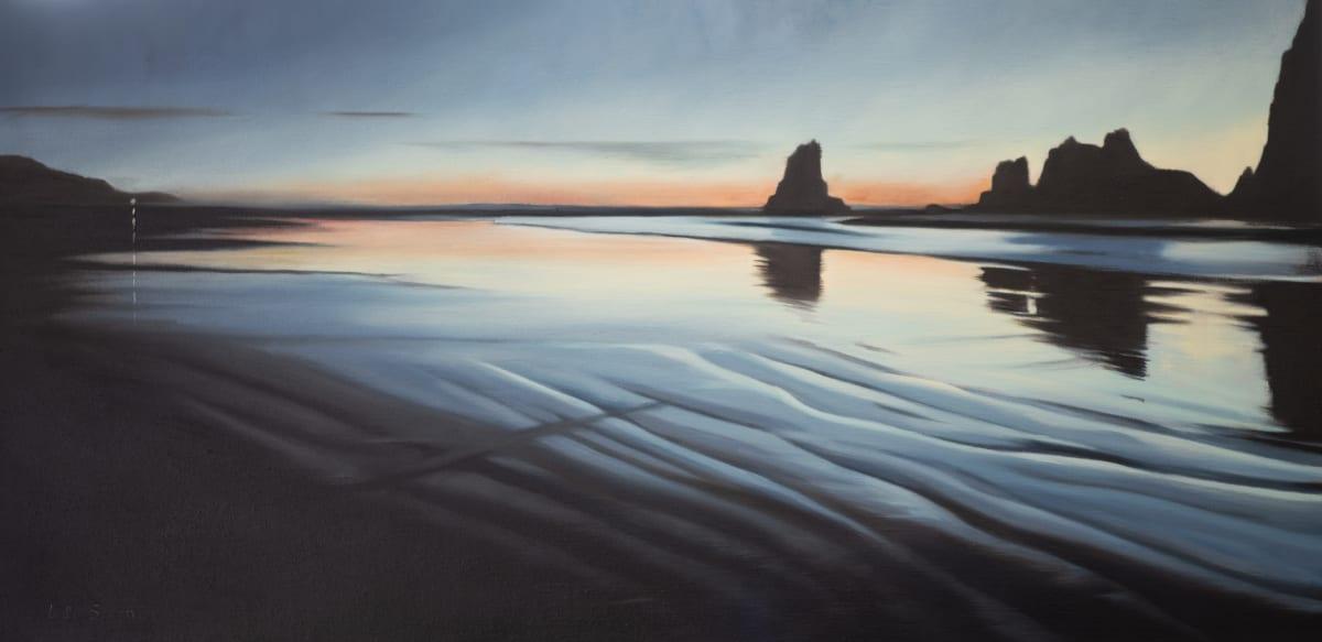 Clatsop: Rocks at Night by Lisa McShane