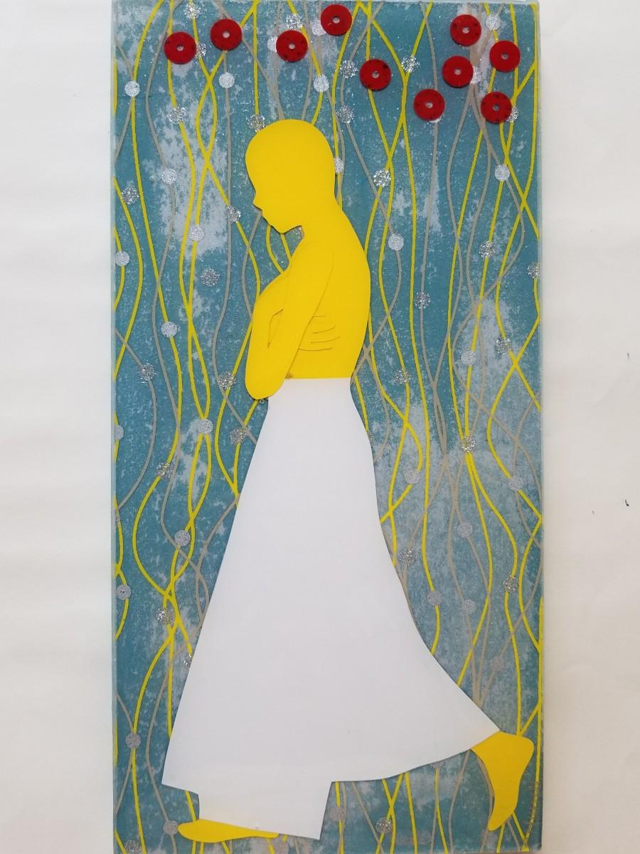 Walk Alone _ Yellow by Tracy Murrell