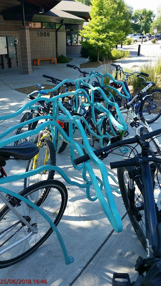 Bike Rack by Rafe Ropek