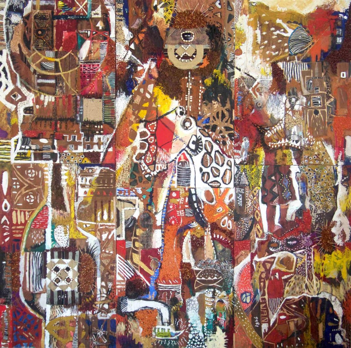 The triumphant entry by olayanju dada