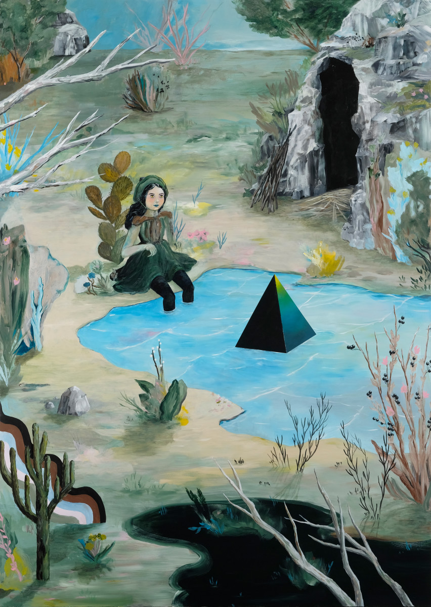 Cave Witch  ~ november sale $5525 reg. $8500 by rebecca chaperon