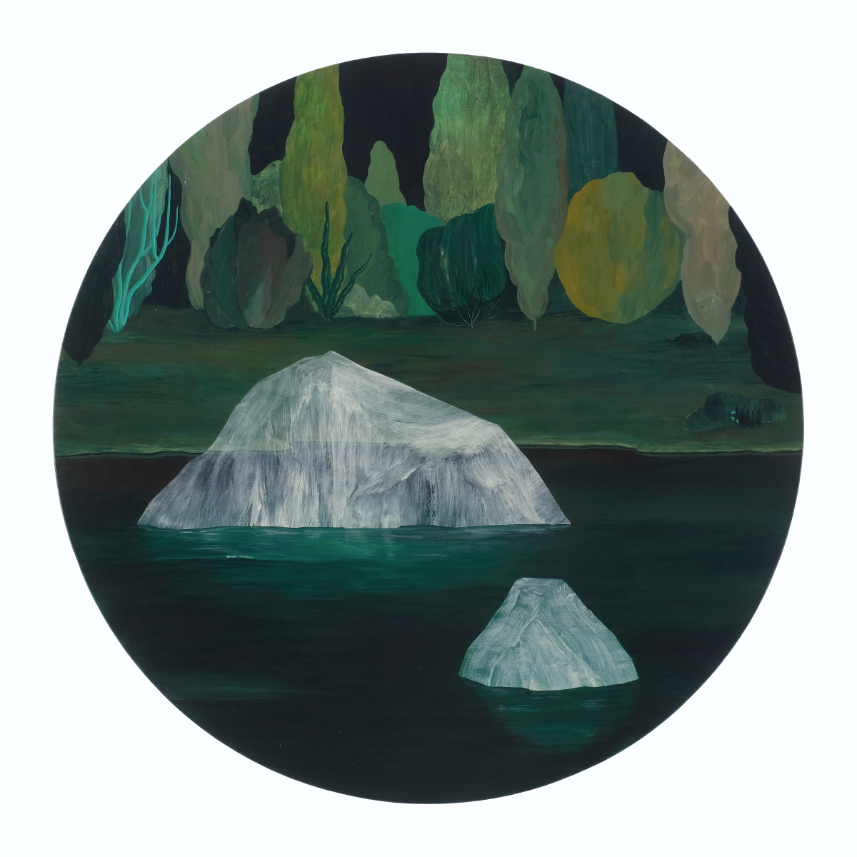 Ghost Icebergs by rebecca chaperon
