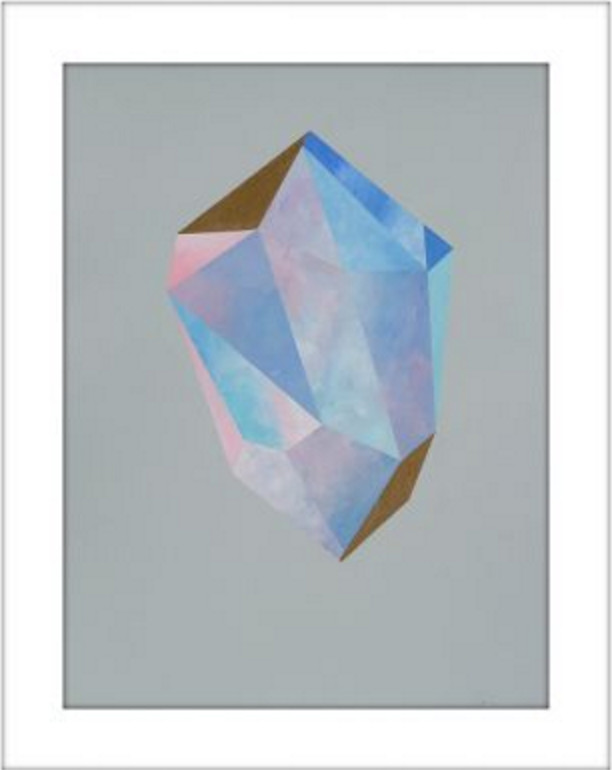 Purple Crystal #64 by rebecca chaperon