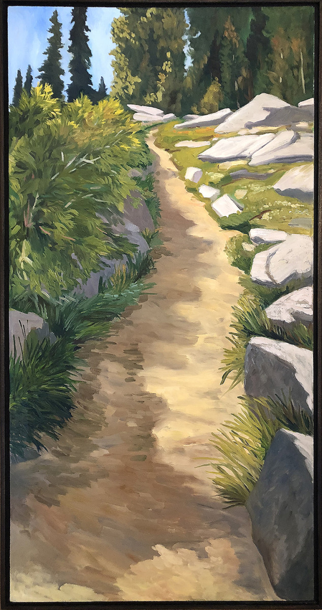 A Lovely Stretch of Trail by Faith Rumm