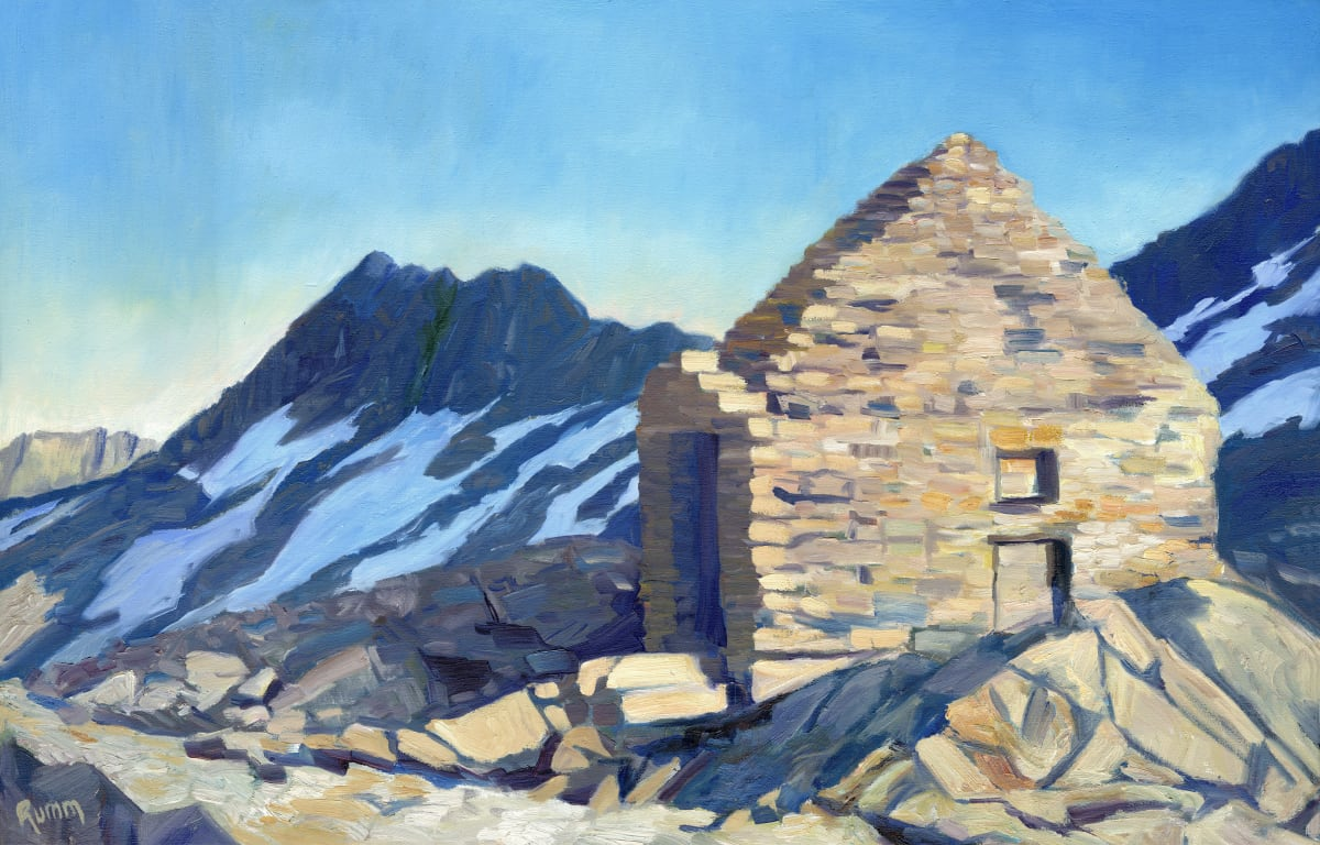 Muir Hut, Muir Pass by Faith Rumm