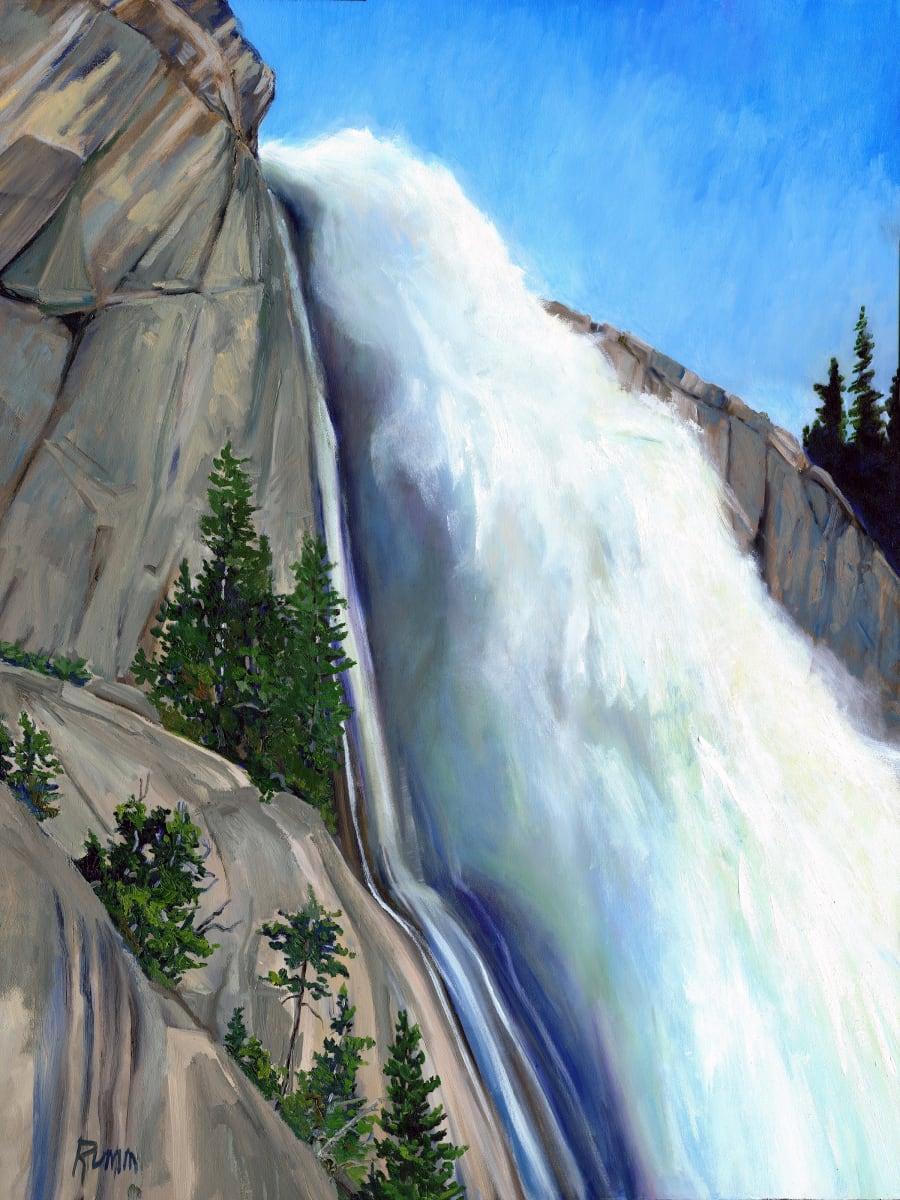 Spring Velocity - Nevada Falls by Faith Rumm