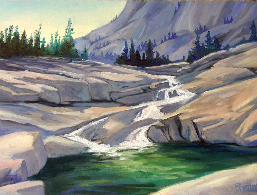 The Green Pool by Faith Rumm