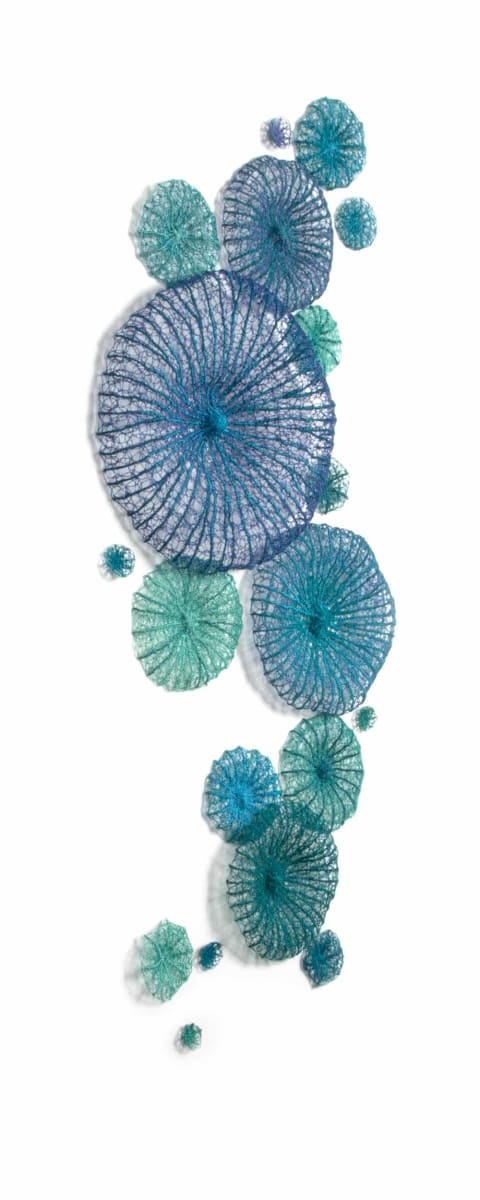 Blue Discosoma by Meredith Woolnough
