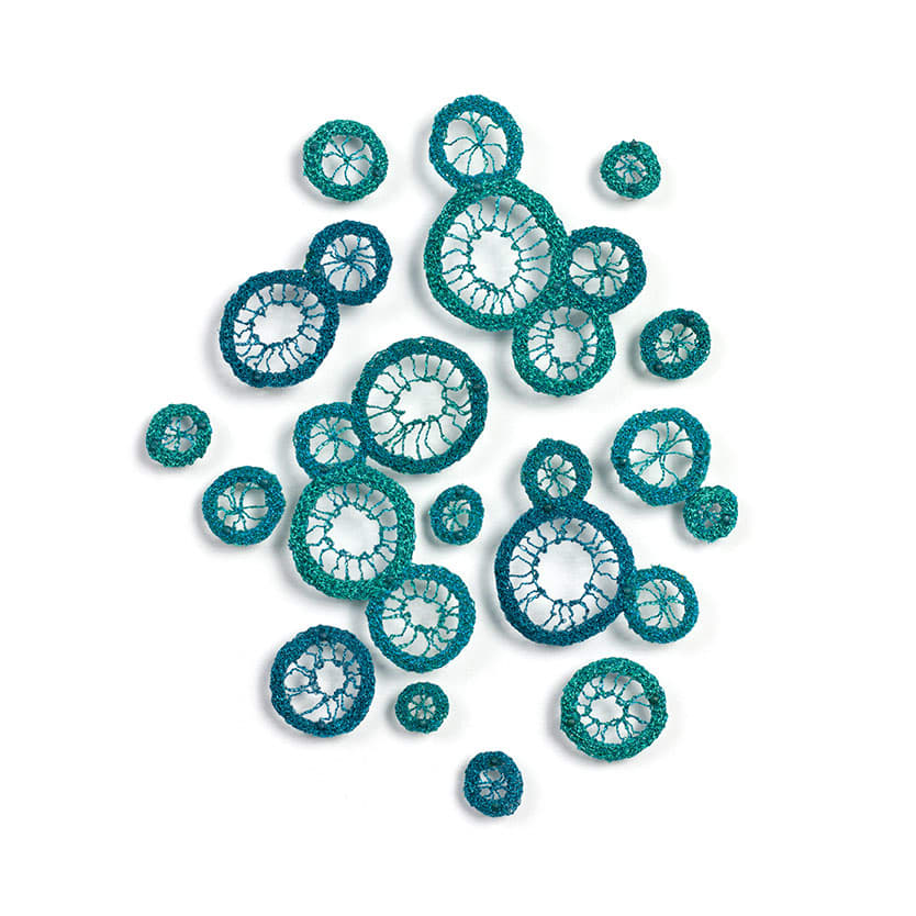 #84 Blue Cells by Meredith Woolnough
