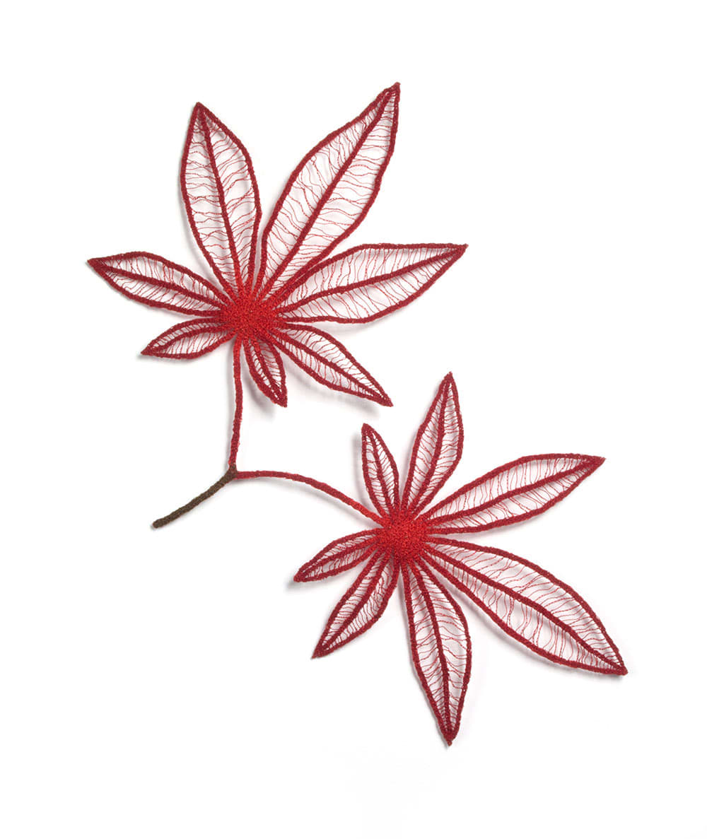 Japanese Maple Leaves by Meredith Woolnough
