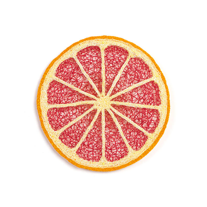 #81 Red Grapefruit by Meredith Woolnough