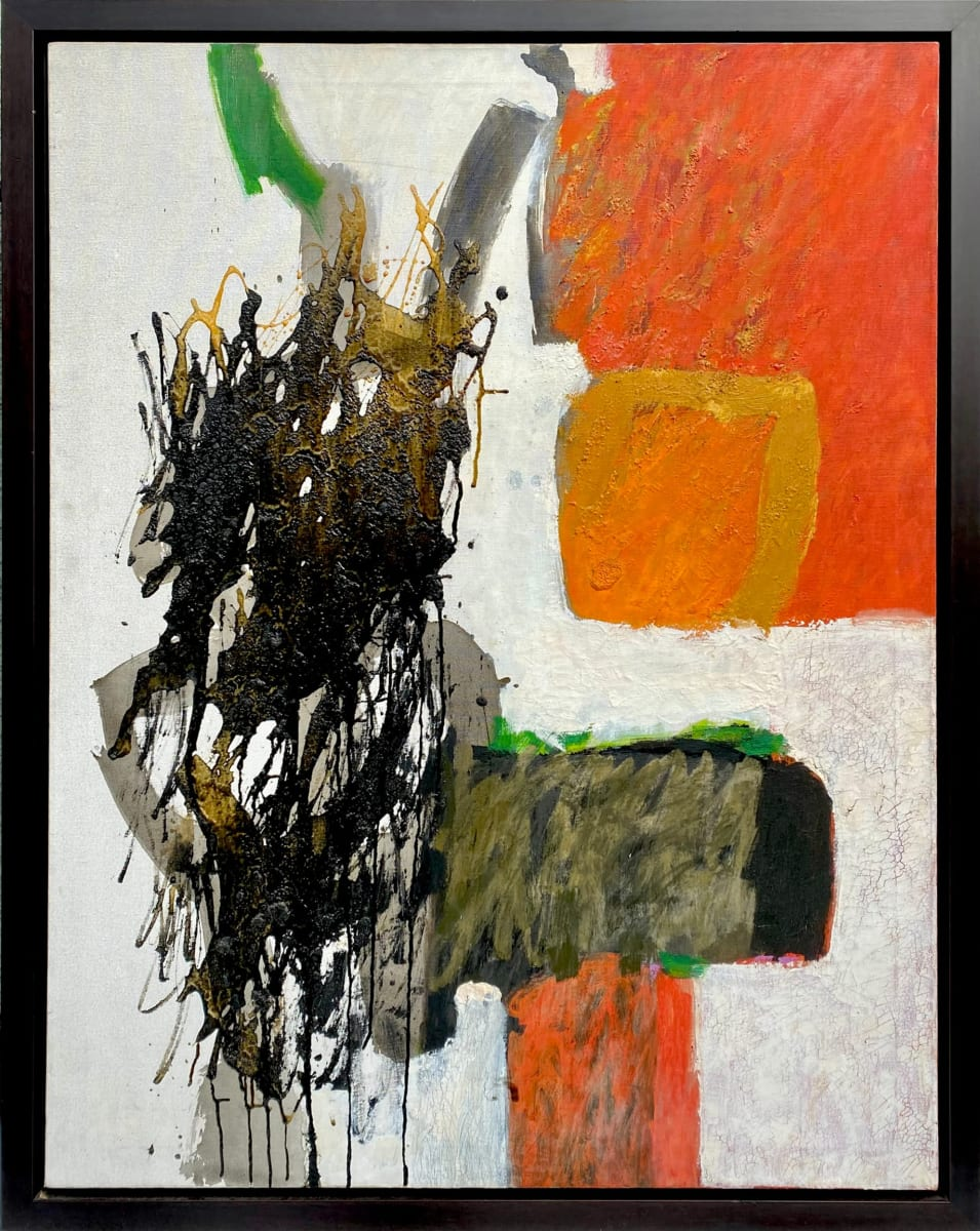 0046 -  abstract by Cleve Gray (1918-2004)